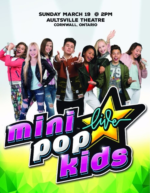 Mini Pop Kids Live  Spotlight Tour March